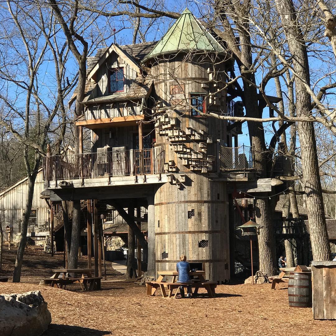 treehouse ozarks kidagain adventure wanderlust dogwoodcanyonnaturepark
