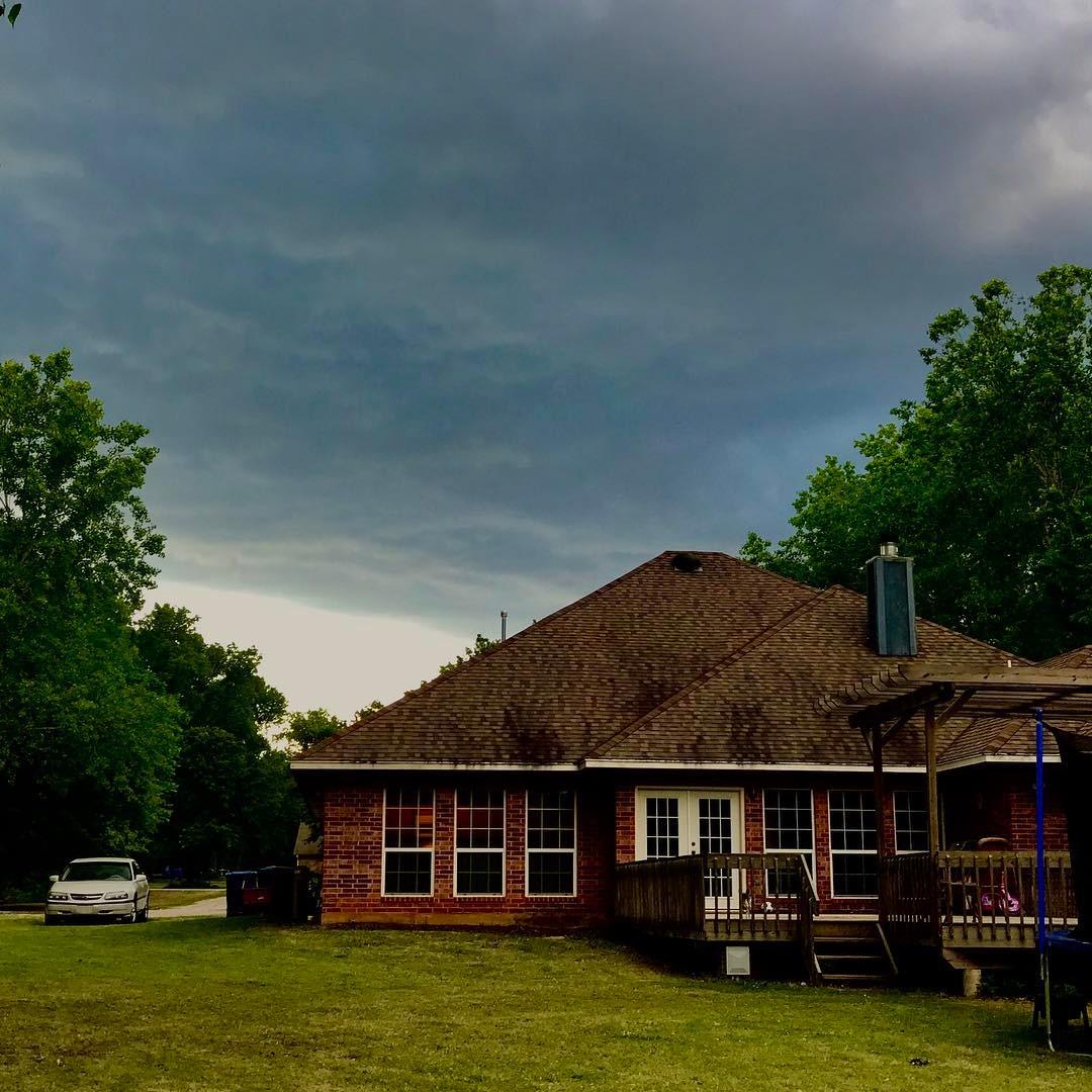 Springtime in Oklahoma Storms rolling in aprilshowers