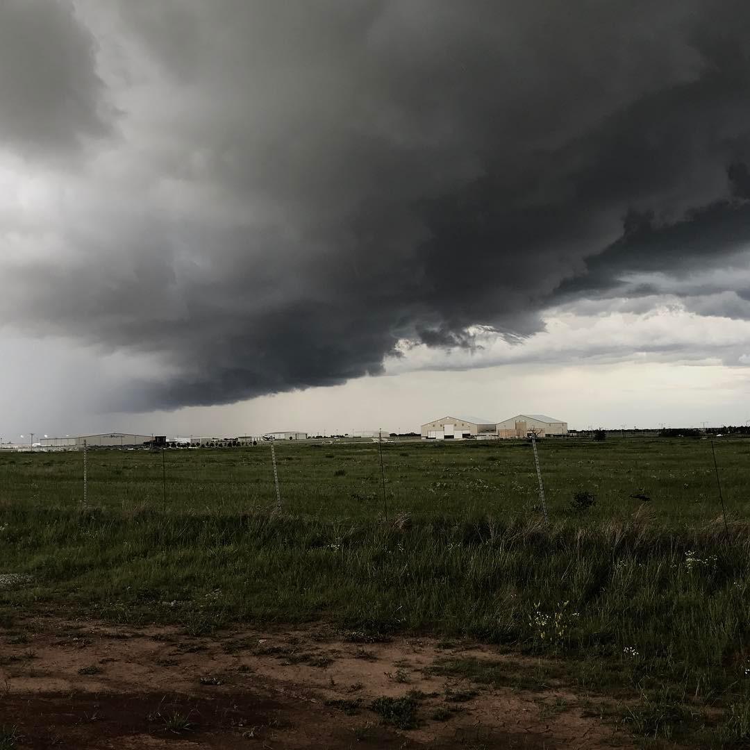 Springtime in Oklahoma thethunderrolls twistertime stormy willrogersworldairport 405